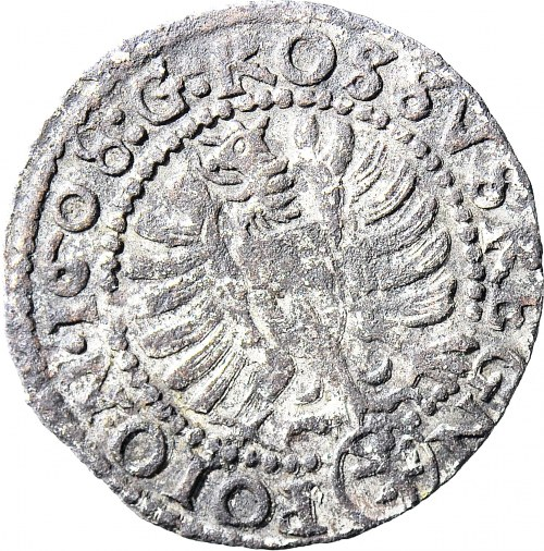R-, Zygmunt III Waza, Grosz 1608, portretowy, fałszerstwo z epoki
