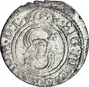 RR-, Zygmunt III Waza, Szeląg, bez daty, Wilno