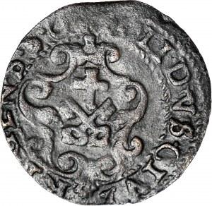 Zygmunt III Waza, Szeląg bd, Ryga, fałszerstwo z epoki