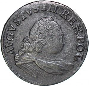 RR-, August III Sas, Grosz 1755