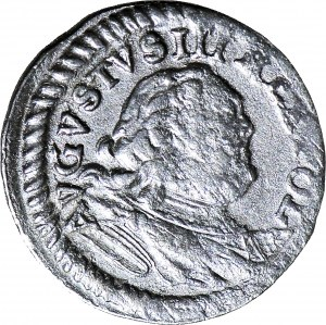 August III Sas, Szeląg 1753 S