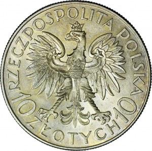 10 złotych 1933, Traugutt, menniczy