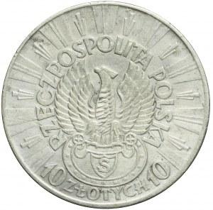 10 złotych 1934, Piłsudski, ORZEŁ STRZELECKI