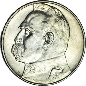10 złotych 1938, Piłsudski, rzadkie, menniczy