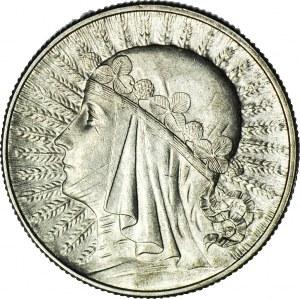 5 złotych 1932, Głowa, Londyn, mennicza
