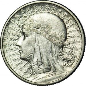 2 złote 1934, Głowa, ok. mennicza