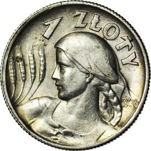 1 złoty 1925 Żniwiarka (Londyn), mennicza