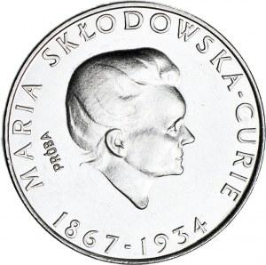 100 złotych 1974, PRÓBA nikiel, M. Skłodowska - mała głowa