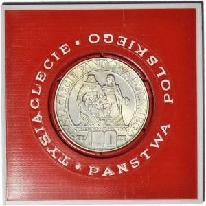 100 złotych 1966, Mieszko i Dąbrówka, oryginalne pudełko