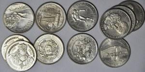 Zestaw 11 szt. monet 20.000 zł 1993 i 1994