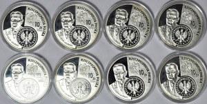Zestaw 8 szt. 10 złotych 2004, DZIEJE ZŁOTEGO - 1 złoty - Władysław Grabski
