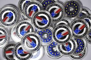 Zestaw 37 szt. 10 złotych 2004, Wstąpienie Polski do unii europejskiej