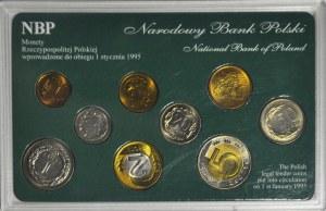 III RP, Zestaw monet obiegowych podenominacyjnych (w tym rzadkie)