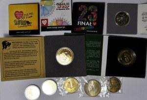 Zestaw 11 szt. monet zastępczych i żetonów