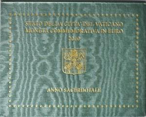 Watykan, Benedykt XVI, 2 euro 2010, Rzym, Rok kapłanów