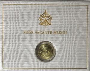 Watykan, Sede vacante 2013, 2 euro 2013, Rzym