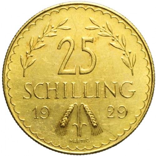 Austria, Republika, 25 szylingów 1929