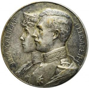 Belgia, Medal Wdzięczności dla Stanów Zjednoczonych, 1914