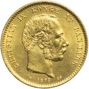 Dania, 20 Koron 1873, Christian IX, mennicze