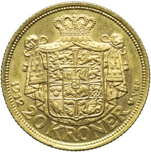 Dania, 20 Koron 1912, Fryderyk VIII