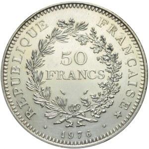 Francja, V Republika, 50 franków 1976, Herkules