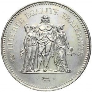 Francja, V Republika, 50 franków 1978, Herkules