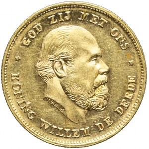 Holandia, Wilhelm III, 10 guldenów 1876