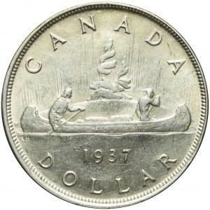 Kanada, Jerzy VI, 1 dolar 1937