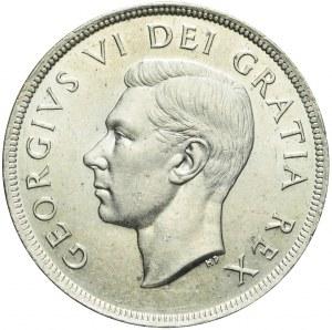 Kanada, Jerzy VI, 1 dolar 1949, Przyłączenie Nowej Funlandii, piękny