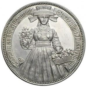 Niemcy, Hamburg, Medal 1897, Wystawa Ogrodnicza