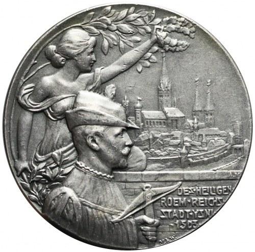 Niemcy, Isny, Medal 400-lecie Zawodów Strzeleckich, 1903, rzadki