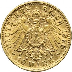 Niemcy, Bawaria, 10 marek, 1998 D, Otto, Monachium