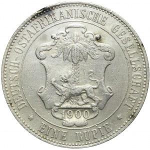 Niemcy, Afryka Wschodnia, Wilhelm II, 1 rupia 1890, Berlin