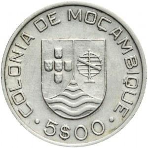 Portugalia Kolonie, Mozambik, 5 escudos 1935