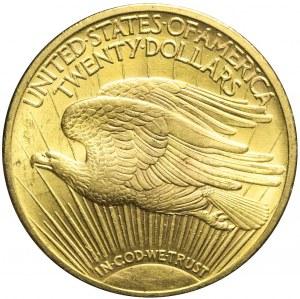 Stany Zjednoczone Ameryki (USA), 20 dolarów 1922, Saint Gaudens, mennicze
