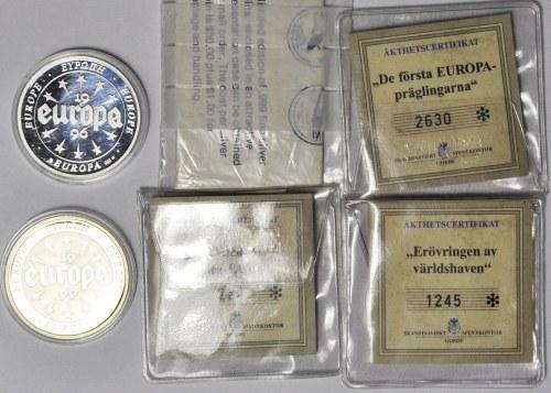 Zestaw 6 szt. monety/medale