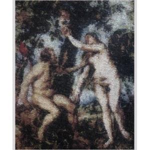 Bartosz Czarnecki (ur. 1988), Rubens - Adam i Ewa, 2020