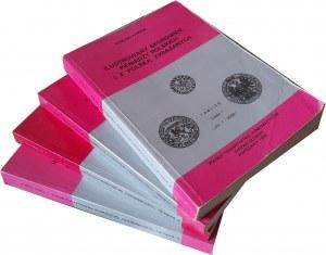 E. Kopicki, Ilustrowany Skorowidz Pieniędzy Polskich 1995, 4 tomy, komplet