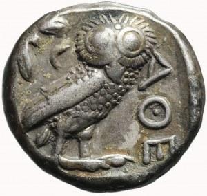 Grecja, Attyka, Ateny, Tetradrachma, ok. 440-400 pne, Sówka
