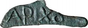 Grecja, Tracja, Olbia, 525-410 pne, delfinek APIXO