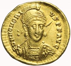 Cesarstwo Rzymskie, Honoriusz (393-423) , Solidus (402-403), Konstantynopol