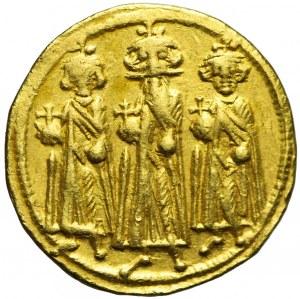 Cesarstwo Bizantyjskie, HERAKLIUSZ 610 - 641 ne , Solid bez daty