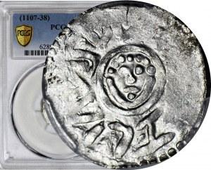 RR-, Bolesław III Krzywousty 1107-1138, denar wrocławski przed 1107