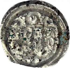 R-, Śląsk, Księstwo Głogowskie - Joachim Brandenburski, Brakteat po 1510 roku, Krosno, typ drugi