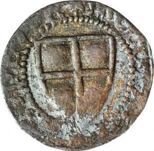 RR-, Zakon Krzyżacki, Michał Küchmeister von Sternberg 1414-1422, Szeląg, fałszerstwo z epoki