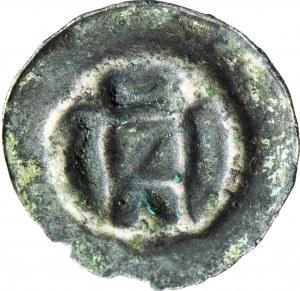 Zakon Krzyżacki, brakteat ok. 1360-1364, Brama ze skosem