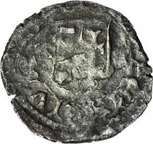 RR-, Władysław Warneńczyk 1442-1443 Denar Polsko-Litewsko-Węgierski