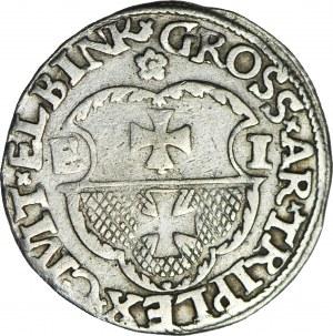 R-, Zygmunt I Stary, Trojak 1536, Elbląg, ELBINK