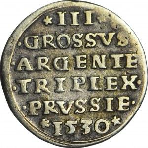 RR-, Zygmunt I Stary, Trojak 1530, Toruń, T.18mk, R5