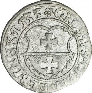 Zygmunt I Stary, Grosz 1533, Elbląg